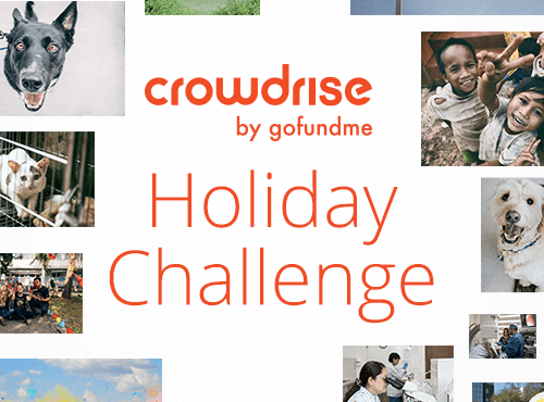 Crowdrise Holiday Challenge